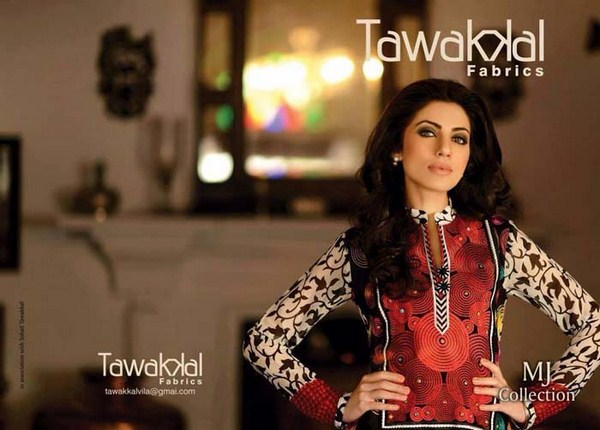 Tawakkal Fabrics Lawn Dresses 2014 For Women 005