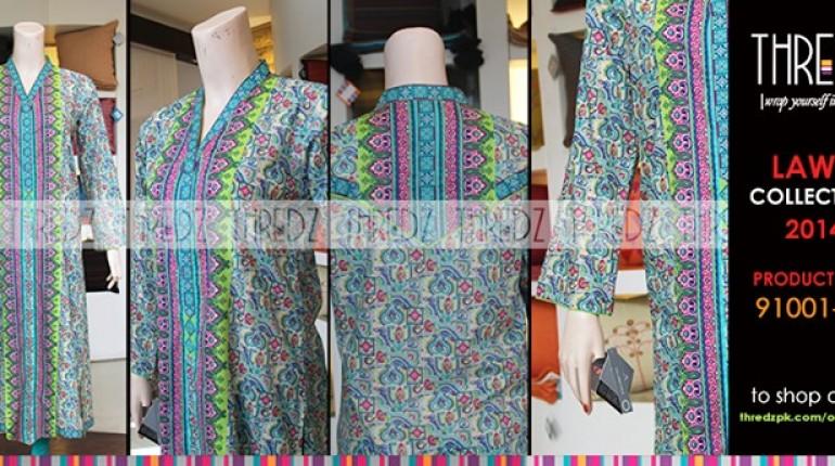 Thredz Lawn Dresses 2014 for Women