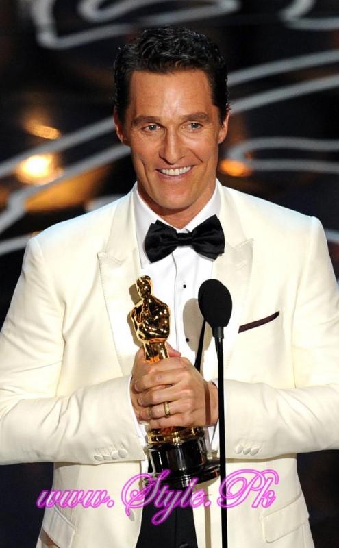 Winner Of Best Actor Award Matthew Mc Conaughey