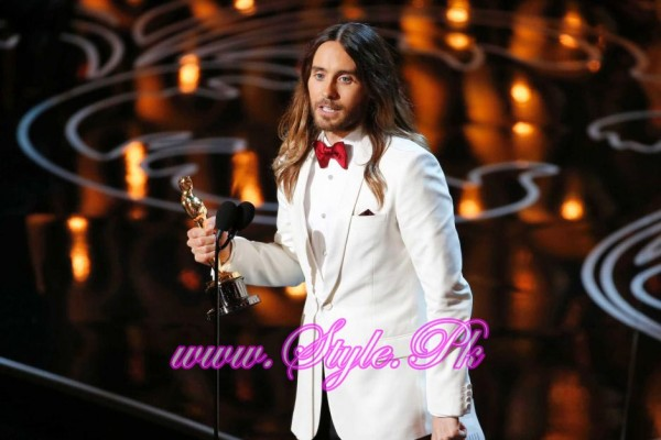 Winner Of best supporting Actor Oscar Award Jared Leto