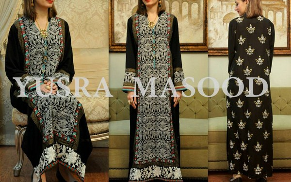 Yusra Masood Spring Dresses 2014 For Women