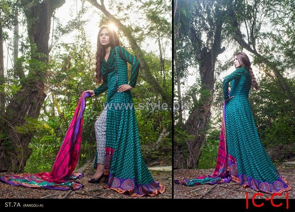 Zainab Chottani Lawn Dresses 2014 For Summer 6