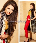 Zainab Salman Lawn Dresses 2014 For Summer 1