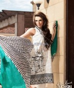 Zainab Salman Lawn Dresses 2014 For Women 4