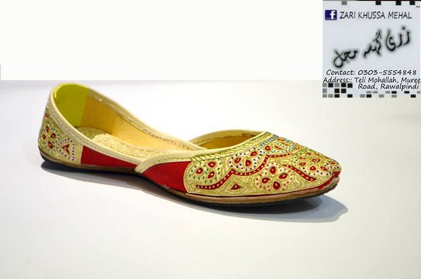 Zari Khussa Mahal Spring Shoes 2014 For Men And Women 003