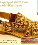 Zari Khussa Mahal Spring Shoes 2014 For Men And Women