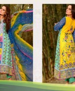 Ajwa Textiles Lawn Dresses 2014 Volume 4 For Women 0011
