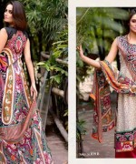 Ajwa Textiles Lawn Dresses 2014 Volume 4 For Women 0012