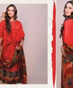 Ajwa Textiles Lawn Dresses 2014 Volume 4 For Women009