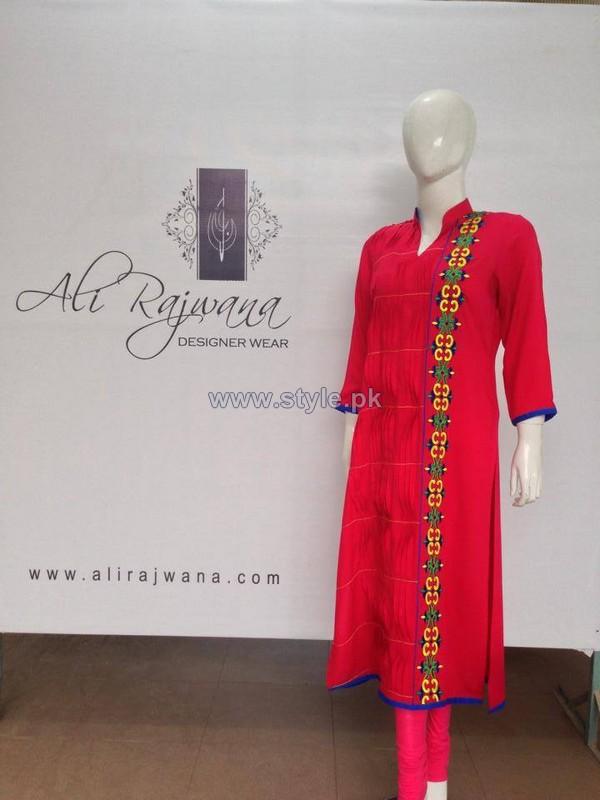 Ali Rajwana Summer Dresses 2014 For Women 7