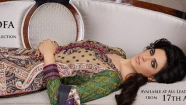 Asim Jofa Lawn 2014 Dresses for Women