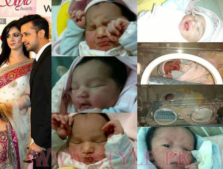 Atif Aslam Welcomed His Baby Boy Baby Ahad Atif Pictures