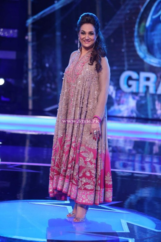 Bushra Ansari in pakistani Idol Pictures