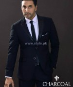 Charcoal Men Suiting Designs 2014 For Summer 4