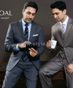 Charcoal Men Suiting Designs 2014 For Summer 5