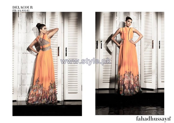 Fahad Hussayn New Dresses 2014 For Women 7