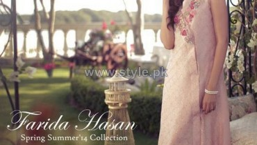 Farida Hasan Summer Dresses 2014 For Girls 5