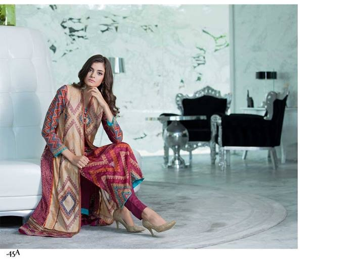 Firdous Lawn 2014 Volume 2 for Women