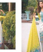Five Star Textiles Divine Lawn Dresses 2014 for Women001