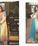 Five Star Textiles Divine Lawn Dresses 2014 for Women007