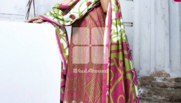 Gul Ahmed Embroidered Lawn Dresses 2014 For Women 0012