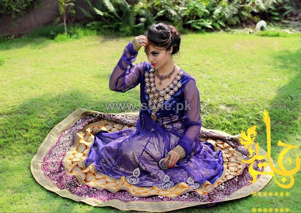 Jannat Nazir Formal and Bridal Dresses 2014 For Summer 5