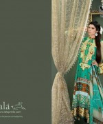 Lala Mashaal Embroidered Dresses 2014 Volume 3004