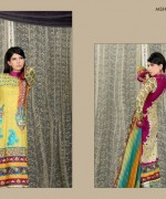 Lala Mashaal Embroidered Dresses 2014 Volume 3005