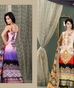 Lala Mashaal Embroidered Dresses 2014 Volume 3010