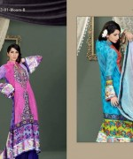 Lala Mashaal Embroidered Dresses 2014 Volume 3011