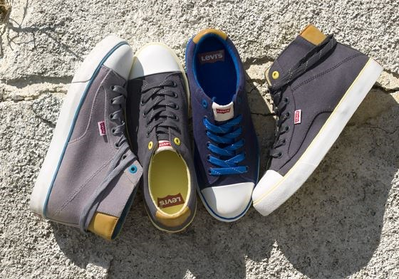 Levi's Launches Footwear Collection Nationwide