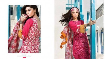 Mahnoush Lawn Dresses 2014 Volume 2 For Women 001