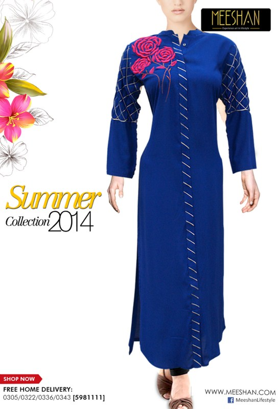 Meeshan Summer Dresses 2014 For Women 004