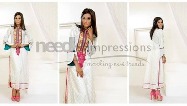 Needle Impressions Ready to Wear Lawn Dresses 2014 for Women