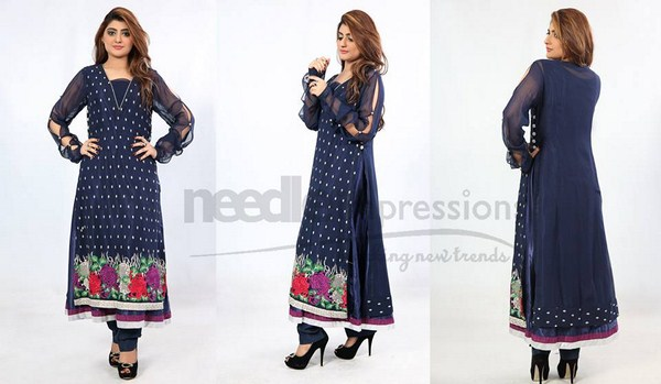 Needle Impressions Summer Dresses 2014 For Women 005