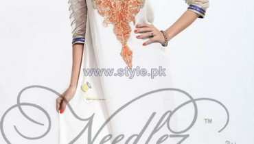 Needlez by Shalimar Party Dresses 2014 For Summer 7