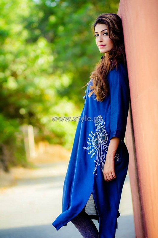Nida Ali Summer Dresses 2014 For Women 6