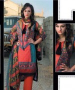 Pardesi Textile Umaimahs Embroidered Lawn Dresses 2014 For Women 007