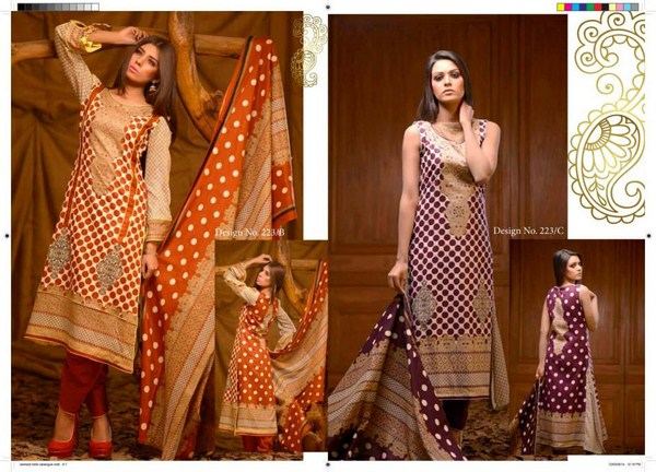 Rashid Textiles Classic Lawn Dresses 2014 For Women 001