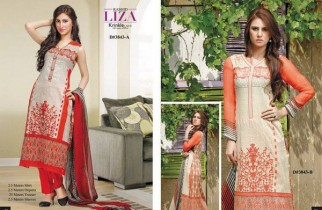 Rashid Textiles Summer Dresses 2014 Volume 3 For Women 0010