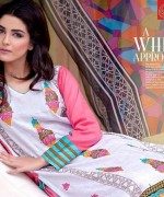Rujhan Fabric Parisha Lawn Collection 2014 Volume 3 For Women 001