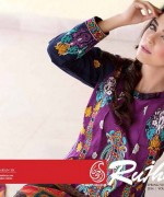 Rujhan Fabric Parisha Lawn Collection 2014 Volume 3 For Women 0011