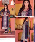 Rujhan Fabric Parisha Lawn Collection 2014 Volume 3 For Women 0012