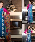 Rujhan Fabric Parisha Lawn Collection 2014 Volume 3 For Women 0015