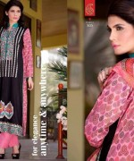 Rujhan Fabric Parisha Lawn Collection 2014 Volume 3 For Women 003