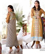 Rujhan Fabric Parisha Lawn Collection 2014 Volume 3 For Women 004