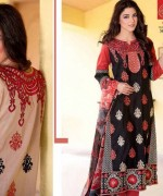 Rujhan Fabric Parisha Lawn Collection 2014 Volume 3 For Women 005
