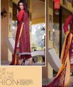 Rujhan Fabric Parisha Lawn Collection 2014 Volume 3 For Women 006