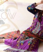 Rujhan Fabric Parisha Lawn Collection 2014 Volume 3 For Women 008