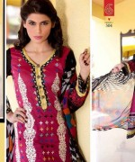 Rujhan Fabric Parisha Lawn Collection 2014 Volume 3 For Women 009